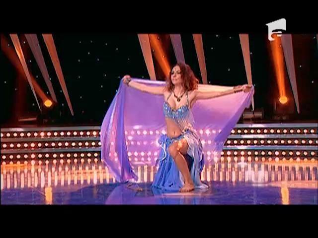 """Dans: Maria Cristina Gîrloiu pe scena """"România Dansează"""""""