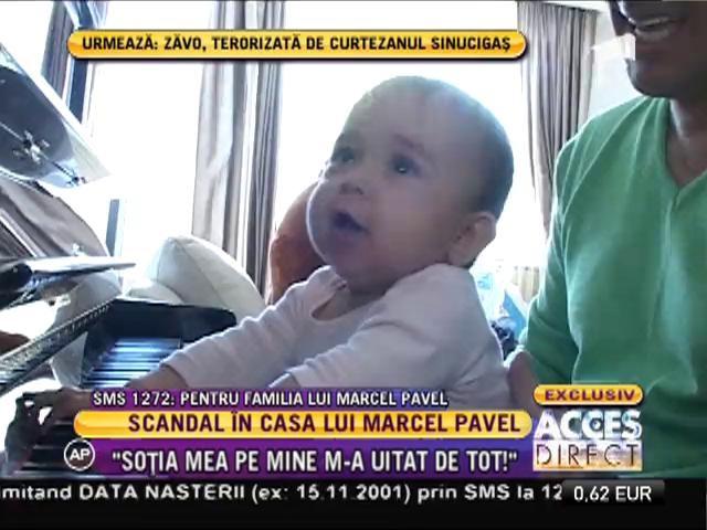 Scandal în casă lui Marcel Pavel