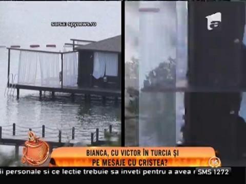 Bianca şi Victor, scene interzis de fierbinți în public