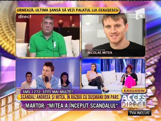 """Martor: """"Mitea a început scandalul"""""""