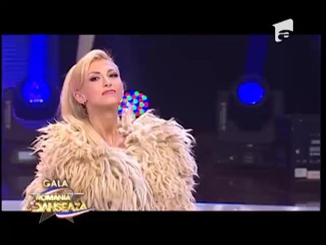 Andreea Bălan, o ciobăniță cu chef de dans