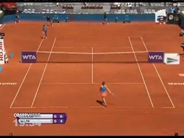 Simona Halep, în finala turneului de tenis de la Madrid