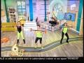 Fitness cu Roxana Ionescu şi Flavia Mihăşan! Fetele au efectuat un antrenament Crossfit!