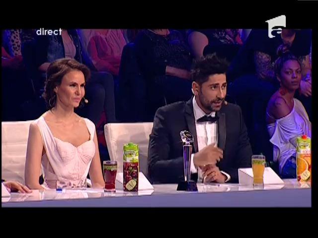 Juriul a fost impresionat! Georgiana şi Constantin au primit trei steluţe aurii