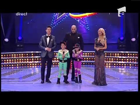 Juriul a fost impresionat! Rares si Alessia primesc trei steluţe aurii