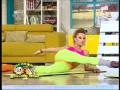 Fitness cu Roxana Ionescu şi Flavia Mihăşan! Fetele au efectuat destinderea de dimineaţă