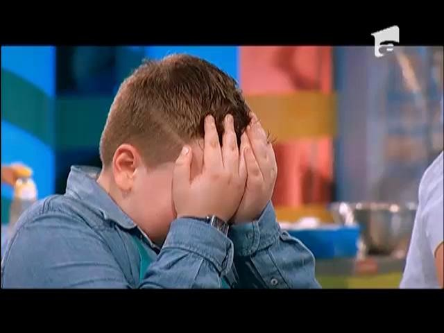 Emoţiile l-au doborât! Nicolas a izbucnit în lacrimi