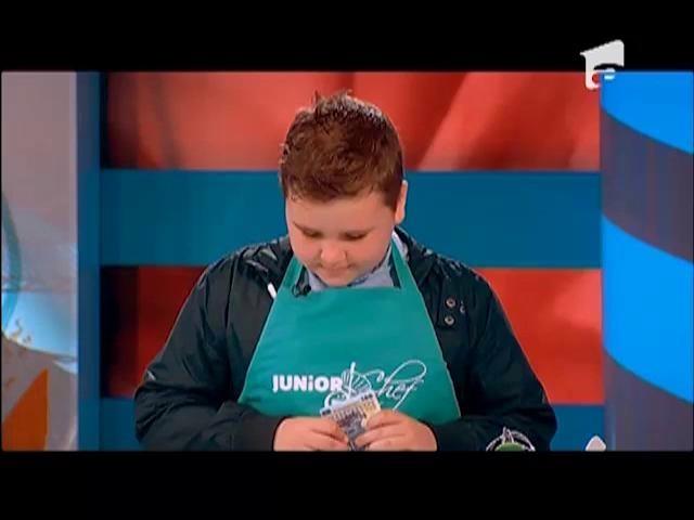 Surpriză pentru finaliştii Junior Chef, înainte de marea FINALĂ!
