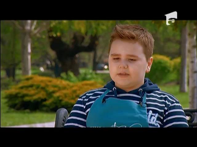 """Nicolas """"Am doar două problemuțe: cum împart porțiile și ce fac cu emoțiile?"""""""