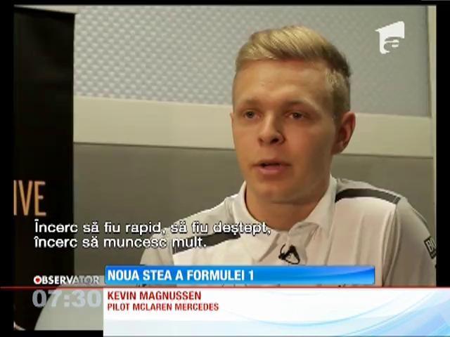 Kevin Magnussen, noua stea a Formulei 1