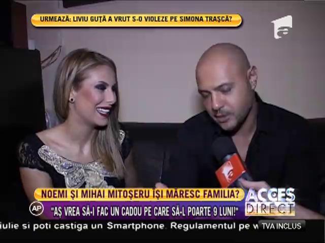 Mihai Mitoşeru şi-a sărbătorit iubita!
