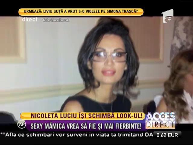 Nicoleta Luciu vrea să-şi schimbe look-ul!