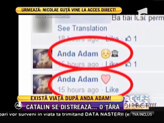 Cătălin Ţîră nu plânge după despărţirea de Anda Adam!