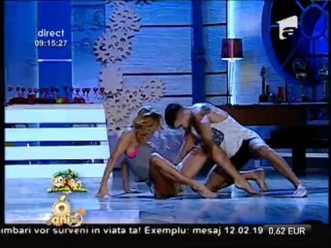Flavia Mihăşan şi Bruce, dans senzual
