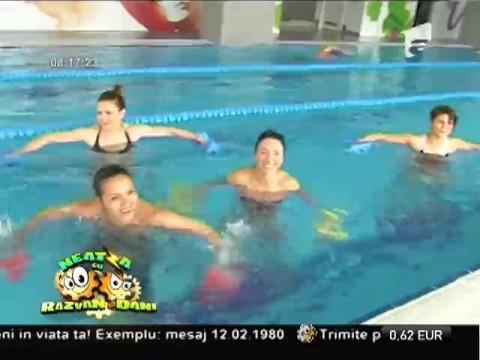 Aqua gym, aerobic în apă