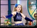 Ana Dumitru a dansat la Neatza pe ritmuri orientale