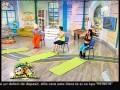 """Florin Neby şi Miruna au făcut fitness """"saturnian"""" cu extraterestrul de la Neatza"""