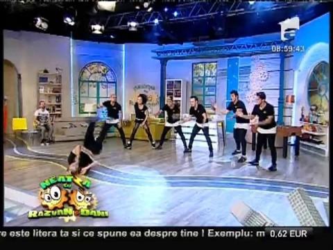 """Trupa """"Trouble Crew Romania"""" dansează la Neatza!"""