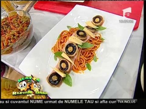 """Reţeta lui Vladutz: """"Spaghete Milaneze"""""""