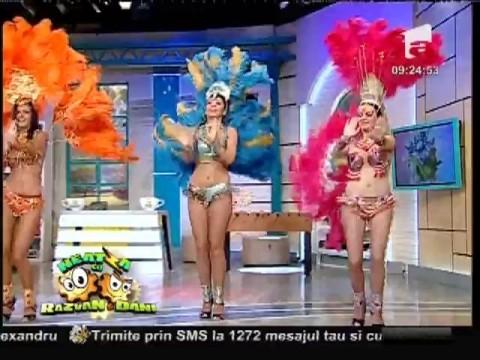 Trupa de dans Eve Show a făcut senzaţie Neatza!