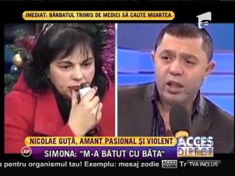Nicolae Guţă, amant violent!