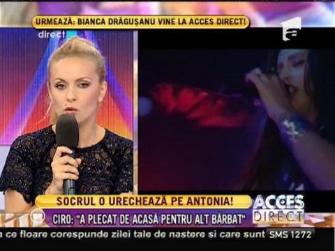 Tatăl lui Vincenzo Castellano tună şi fulgeră la adresa Antoniei!