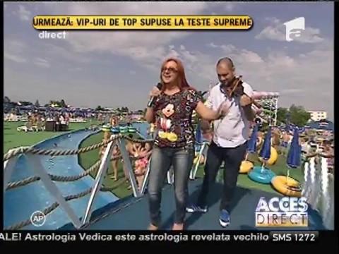 Carmen Șerban, piesă nouă în cadrul emisiunii Acces Direct