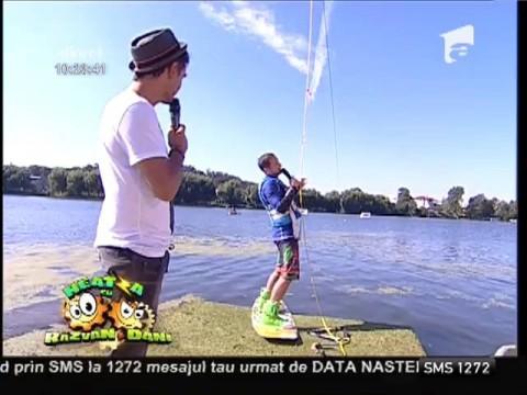 Dani, sport extrem pe apă!