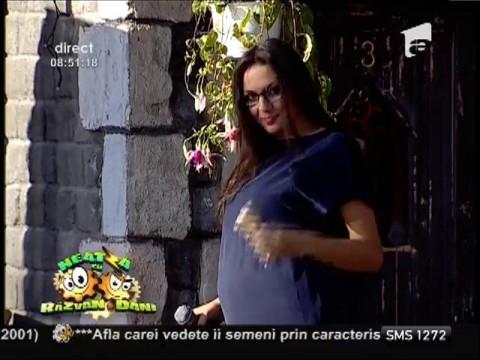 Amalia Ștefania este însărcinată!