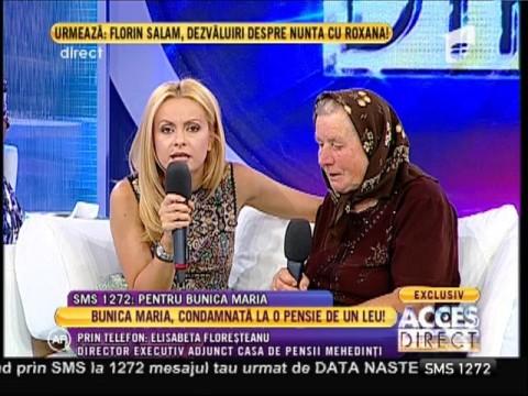"""Elisabeta Floreșteanu, director executiv la Casa de Pensii Mehedinți: """"Cazul urmează să fie soluționat, iar bătrâna va primi o pensie de 350 de lei!"""""""