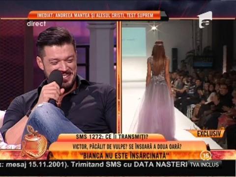 """Victor Slav: """"Bianca nu este însărcinată!!"""""""