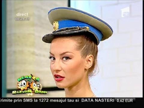 Flavia Mihășan, instrucție ca în armată