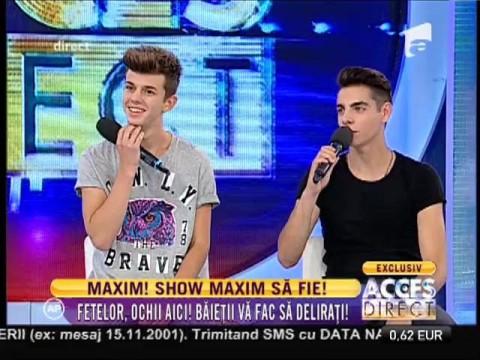 Băieții de la Maxim, mare succes la fete