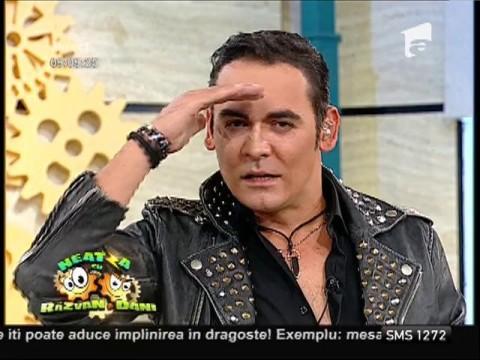 Răzvan Simion s-a transformat în Ştefan Bănică Jr.! Vezi aici ce zic juraţii de prestaţie