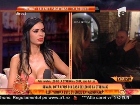 """Leo de la Strehaia: """"Nu este nimic între mine și Simona Florescu. Suntem amici"""""""