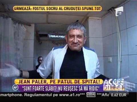 Actorul Jean Paler, de urgență la spital