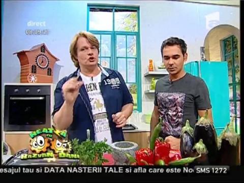 """Rețeta lui Vlădutz: """"Armonie de toamnă din muschiuleț de porc"""""""