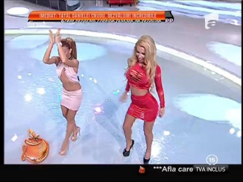 Loredana Chivu şi Ana Maria Mocanu, dans demențial