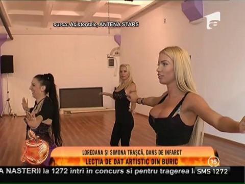 Loredana si Simona Traşcă, dans de infarct!