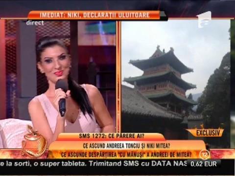 Andreea Tonciu, vacanță în China