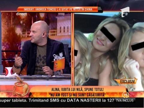 """Alina, amanta lui Mihai Costea: """"Nilă era disponibil la orice oră pentru mine. Nu sunt însărcinată!"""""""