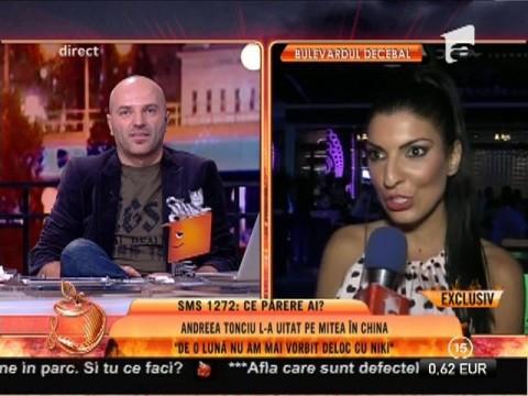 """Andreea Tonciu: """"De o lună nu am mai vorbit deloc cu Mitea"""""""