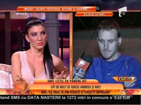 """Nicolae Mitea: """"Aș vrea ca eu și Andreea să fim fericiți și liniștiți împreună"""""""