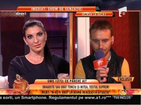 """Nicolae Mitea: """"Nu mai sunt într-o relaţie cu Andreea!"""""""