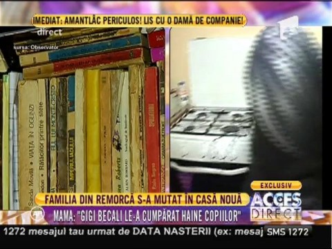 Cum arată locuinţa în care s-au mutat cele 5 suflete cu ajutorul lui Gigi Becali