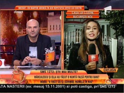 Costin Mărculescu, petrecere în casa regretatului Costică Ştefănescu