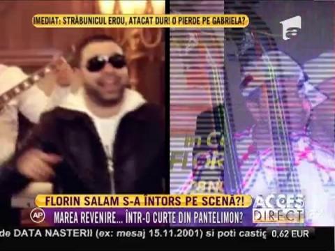 Florin Salam a cântat în curtea unor oameni din Pantelimon