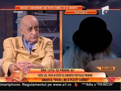 "Presupusa amanta a lui Lis: ""Viorel mi-a dat 2.000, 3.000 de euro"""