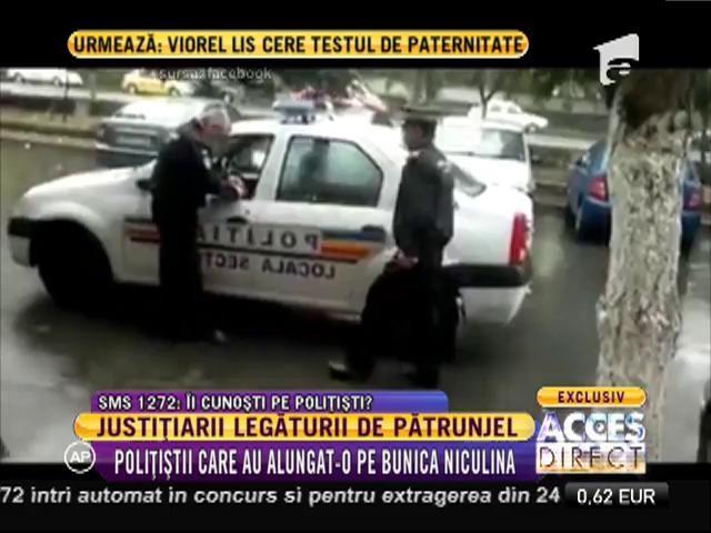 Iată-i pe justițiarii legăturii de pătrunjel! Cine sunt polițiștii care au alungat-o pe Niculina