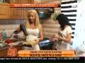 Loredana Chivu este dezastru în bucătărie. Usucă vinetele cu feonul!